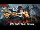 Gusion 14 Kills Without Death!!Stay Away From Gusion !!Gameplay by Branz Top 1 Global-Mobile Legends