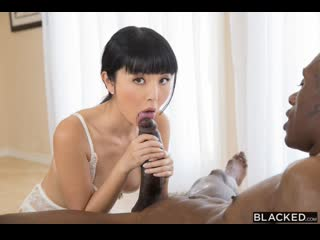 [Blacked] Marica Hase  - Up Close and Personal with Brake [Teen, Asian, Brunette, Interracial, Hardcore, All Sex, 1080p HD]