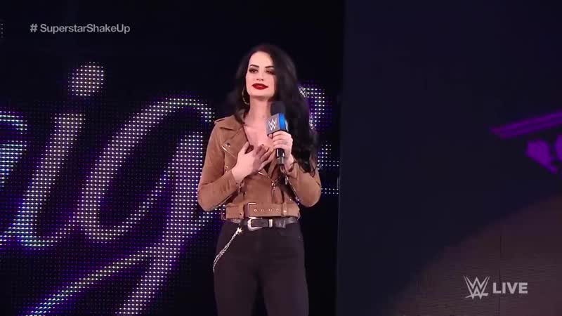 Paige introduces the team of Asuka Kairi Sane_ SmackDown LIVE, April 16, 2019
