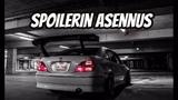 SPOILERIN ASENNUS - Toyota Brevis