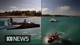 Darwin man stuns locals with a hovercraft built in his carport ABC News