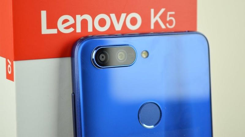 Lenovo K5 - ультрабюджетный смартфон с хорошим железом!