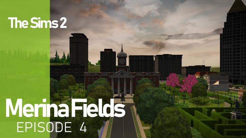 The Sims 2 Merina Fields - Ep. 4 - City Hall