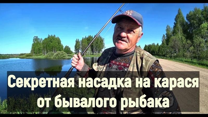 Секретная насадка на карася от бывалого рыбака. Рыбалка на поплавок