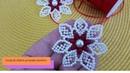 Como fazer de forma muito fácil a flor de pérolas Maria Bonita/ Daniela Nascimento