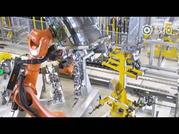 12分钟超清视频:德国工业4 0宝马全自动化生产线全流程体验