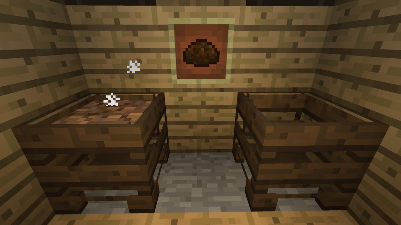 Minecraft 1.14 компостер