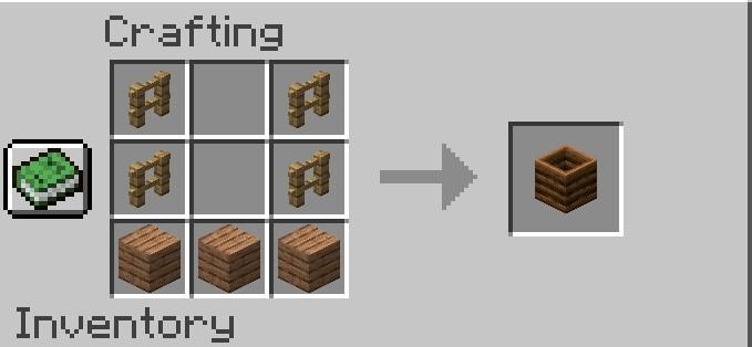Minecraft 1.14 крафт компостера