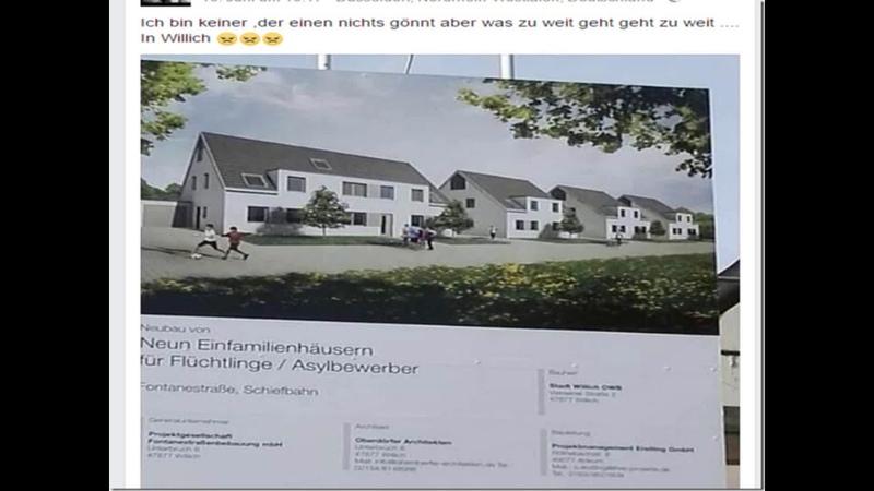 Der Oberhammer Nagelneue Eigenheime für Flüchtlinge für lau und ohne Gegenleistung