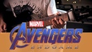 Avengers: Endgame Theme on Guitar (Trailer Music) | Metal/Djent Cover with TABs