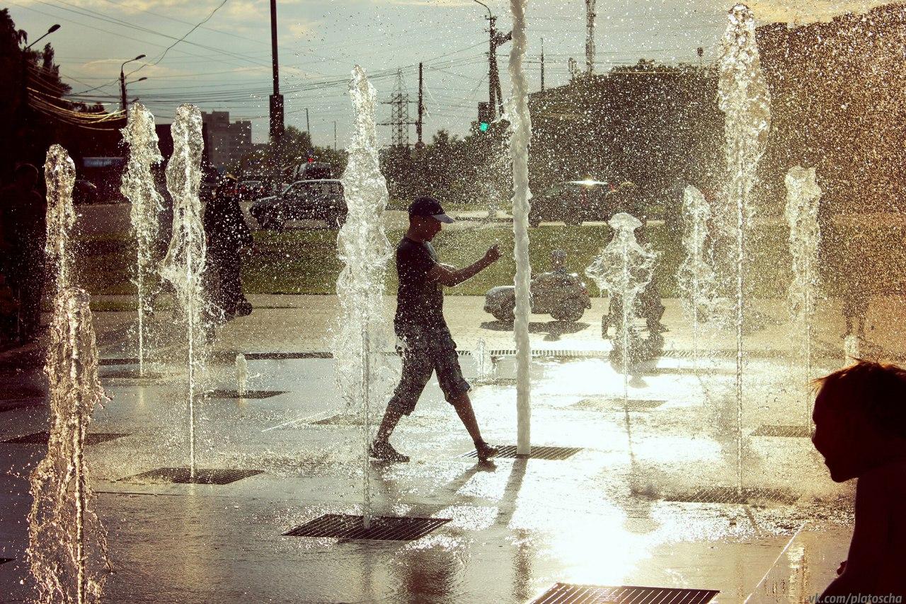 Возле курского драмтеатра появится светомузыкальный фонтан