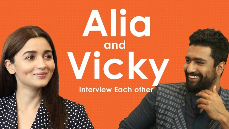 Alia Bhatt And Vicky Kaushal Interview Each Other Candid Talks Raazi MissMalini