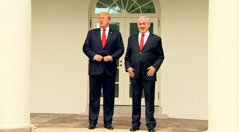 Трамп против всех только Израиль поддержал решение президента США по Голанским высотам
