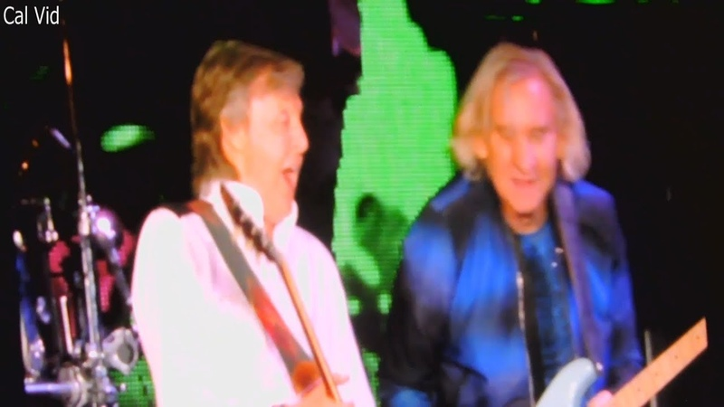 Paul McCartney Joe Walsh Dodger Stadium Live 2019