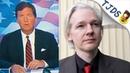 Tucker Carlson Defends Assange Huh