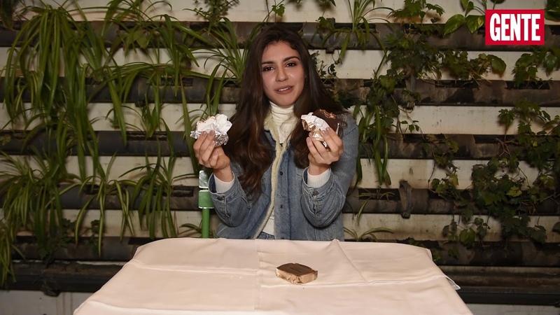 Isa Souza prueba los típicos sabores argentinos para GENTE