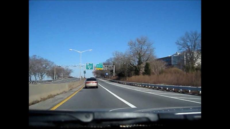 На Машине по трассе из Бруклина в Нью-Йорк (Манхэттен)
