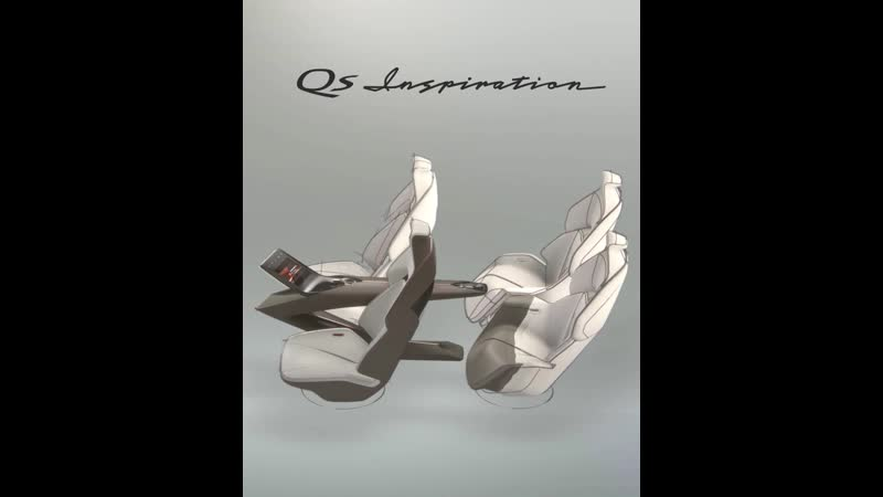 INFINITI Qs Inspiration Interior