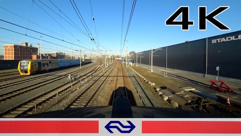 Good job Prorail! 4K CABVIEW HOLLAND Enschede - Deventer ICM 25feb 2019