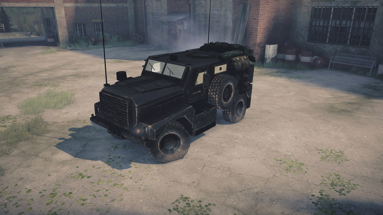 MRAP «Cougar» 4x4