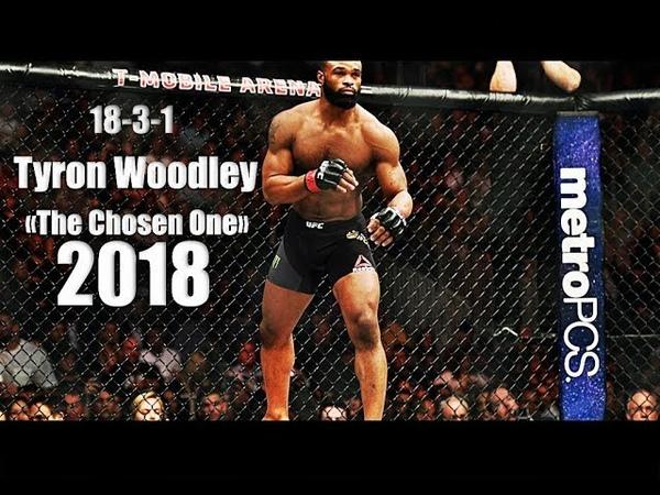 Tyron «The Chosen One» Woodley - All UFC HighlightsKnockoutMomentsᴴᴰ