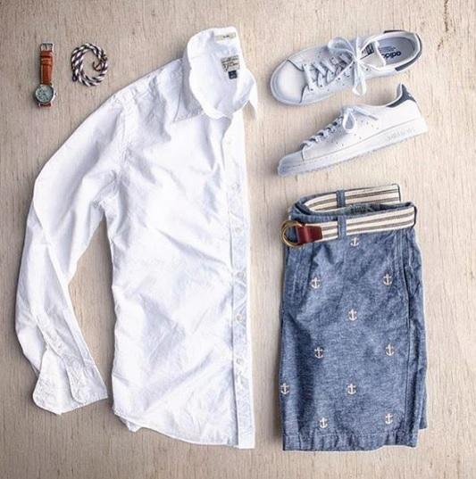Суббота господа, можно расслабиться и надеть любимые кеды и белую рубашку из льна