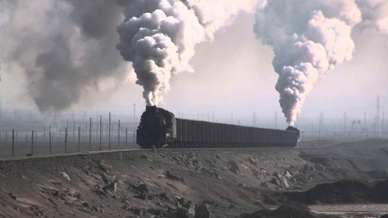 Steam of Sandaoling Coal Mine Railway China(Dec.2009) 1 中国・三道嶺炭鉱鉄道の蒸気機関車(2009年12月)1