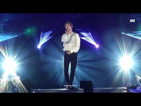 180826 LOVE YOURSELF SEOUL SERENDIPITY 세렌디피티 - 방탄소년단 지민 직캠 BTS JIMIN FOCUS FANCAM