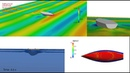 Seakeeping simulation of a sailing boat in regular head waves using OpenFOAM