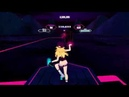 Synth Riders Sunset Neon Lazer Pink Expert Full body tracking