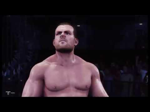WWE 2K19 Kurt Angle vs Chris Benoit Backlash '00 Submission Match