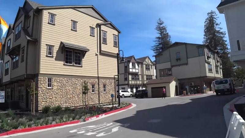 Кремниевая Долина - обзор новых домов по полтора миллиона долларов - 160 кв метров