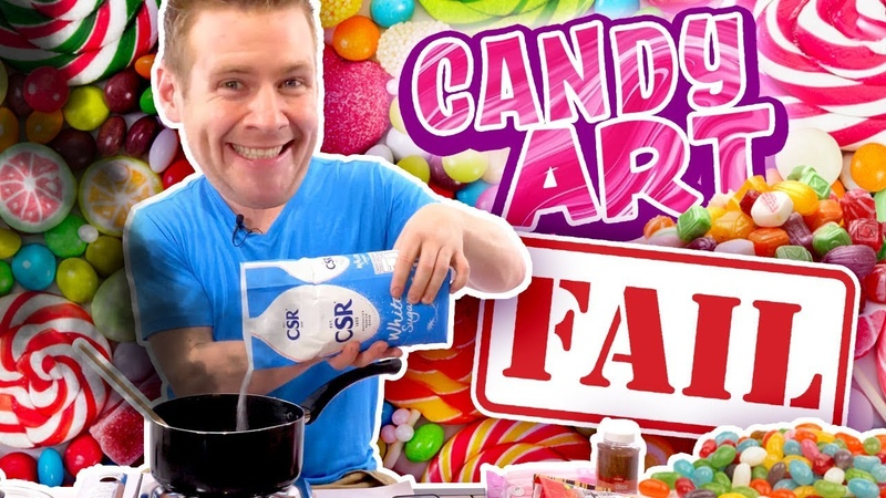 🍭CANDY ART CATASTROPHE!! - (I Never Wanted You to See This...)