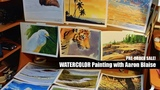 Pre-Order Sale Watercolor Painting with Aaron Blaise