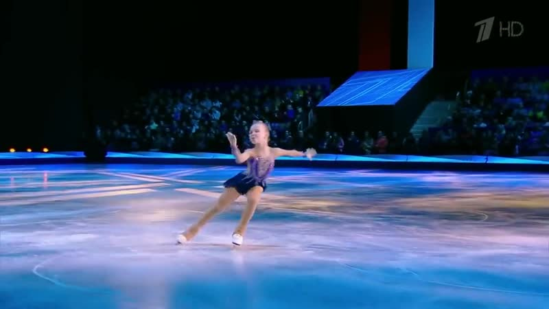 Анастасия Марасанова - «Youre The One That I Want». Ледниковый период. Дети. Вт(00h01m25s-00h04m12s)