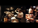 Ozzy Osbourne - Bark at the moon. Drum bass guitar cover.
