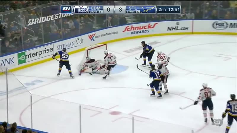NHL Game Highlights _ Oilers vs. Blues - March 19, 2019