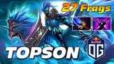 Topson Skywrath Mage 27 Frags Dota 2 Pro Gameplay