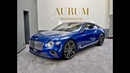 NEW 2019 BENTLEY CONTINENTAL GT *SEQUIN BLUE* Walkaround by AURUM International