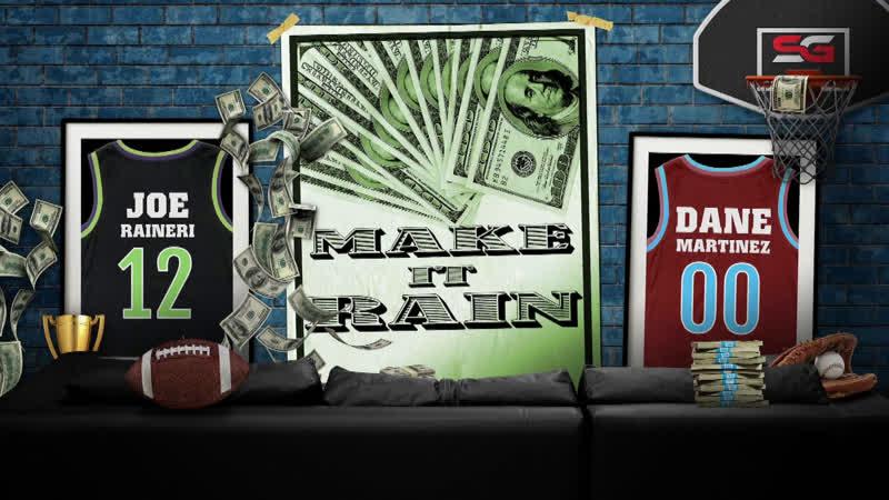 Raptors Tie Up Series Blues Advance To Stanley Cup Finals NFL Offseason Make It Rain EP 73