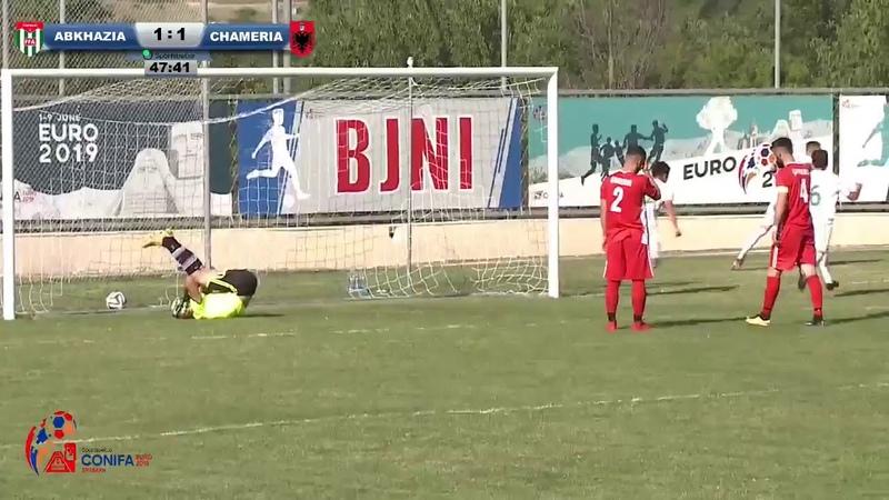 Goal by Dmitry Maskaev [Abkhazia - Chameria - 11]