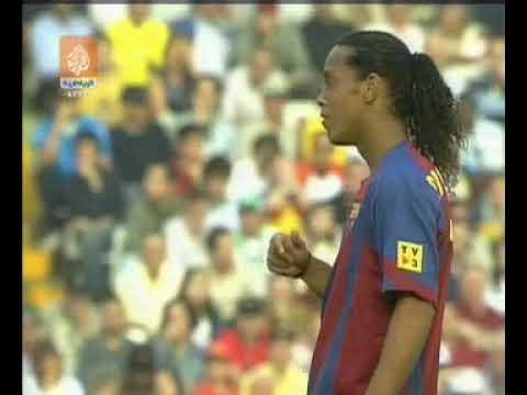 Season 20042005. Valencia CF - FC Barcelona - 02 (highlights)