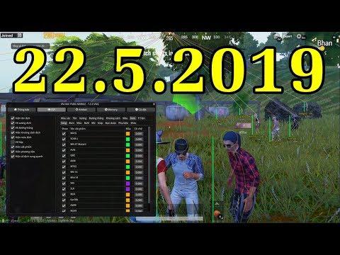 Hack PUBG Mobile PC 13h 22/5/2019 - Nhảy Xuyên Tường, Cắt Dù Nhanh, Xe Bay, vv