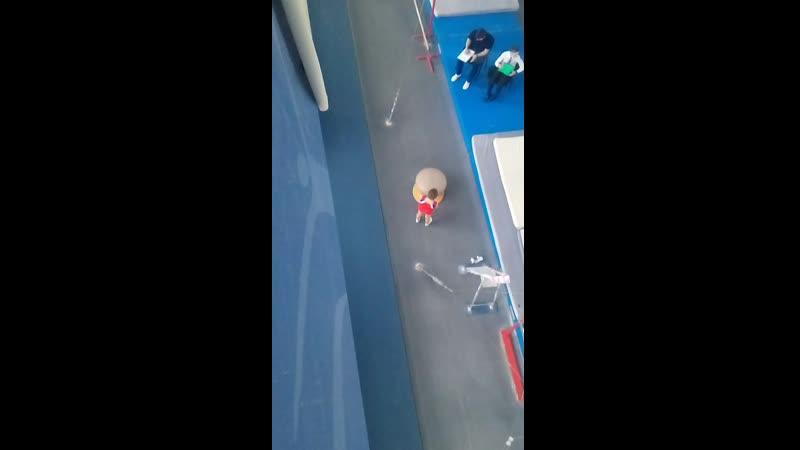 Андрей Фомин, 23.03.19 программа 1 юн.разряда по спортивной гимнастике 1