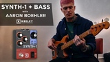 Keeley Electronics Synth-1 Bass Demo w Aaron Boehler - Synthesizer and Slo Attack Settings