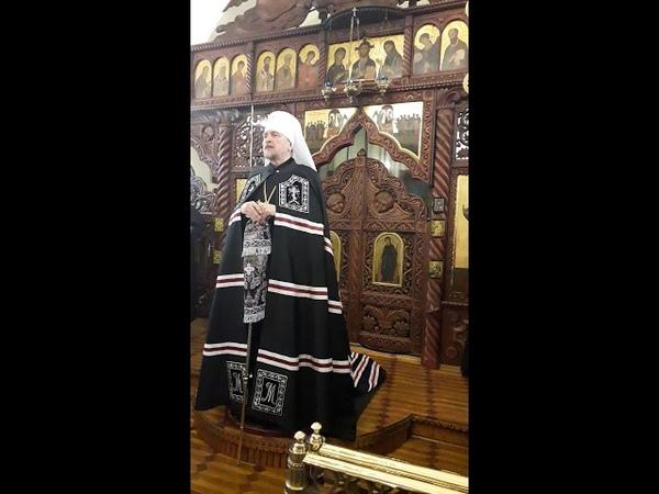 Проповедь митрополита Митрофана в Коле 23 марта 2019 г.