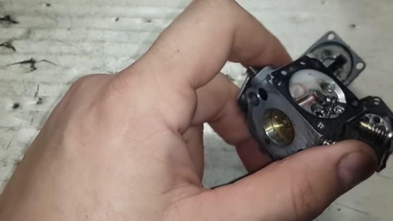 ремонт карбюратора stihl 180