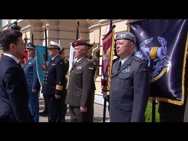 Не віддав честь Президенту командувач ССО і Грицак пішов на демарш проти Зеленського