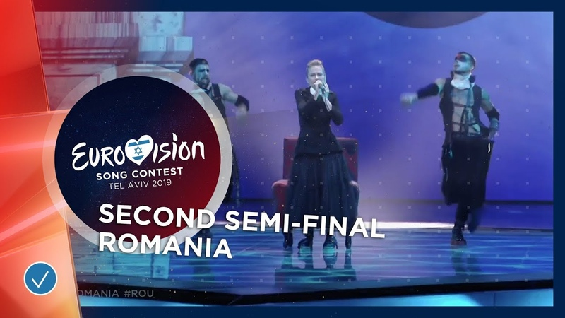 Ester Peony On A Sunday Romania LIVE Second Semi Final Eurovision 2019
