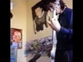 Группа Кино – Репетиция в квартире у Густава (архивная съемка, май 1987)